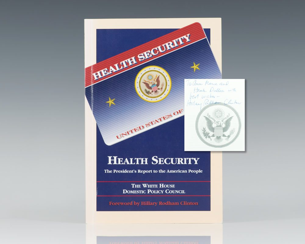 Health Security: The President's Report to the American People.