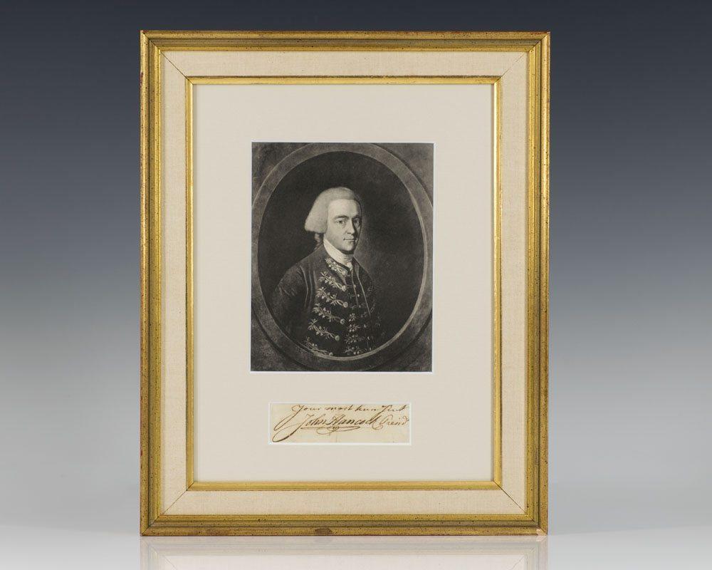 John Hancock Signature.