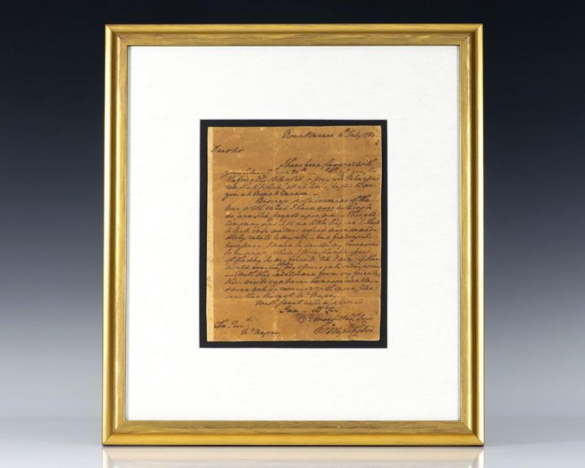 George Washington Autographed Letter Signed.