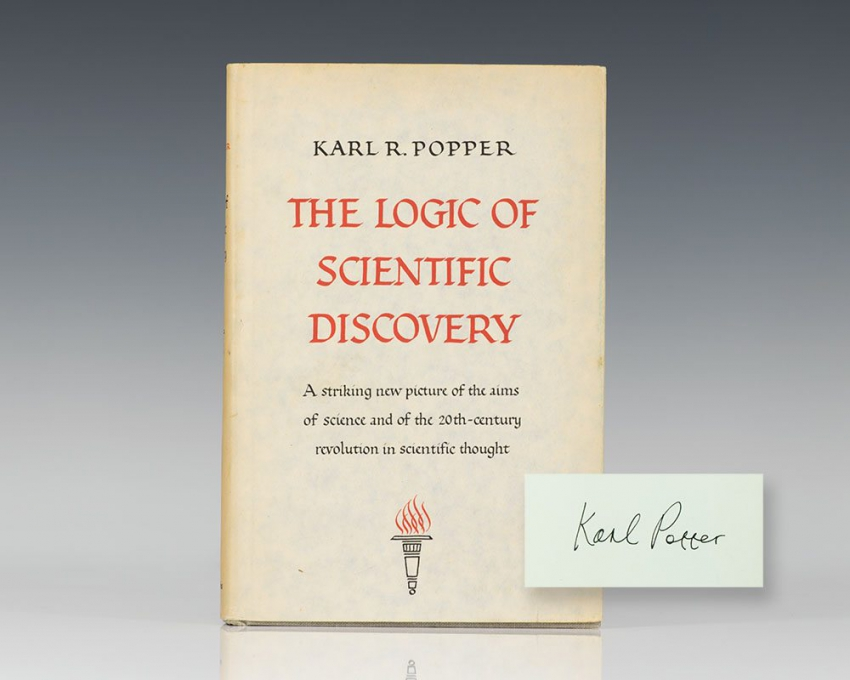 The Logic of Scientific Discovery.