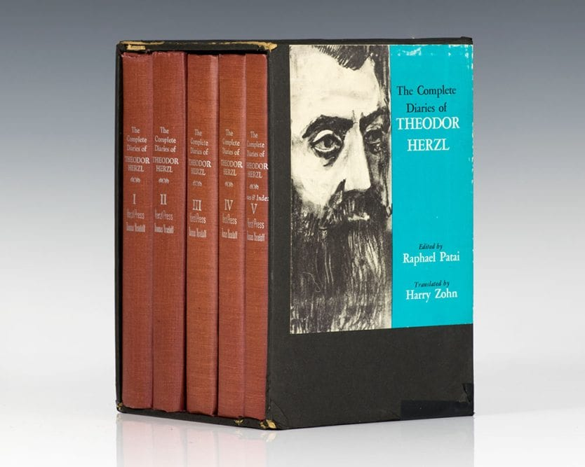 Complete Diaries of Theodor Herzl.