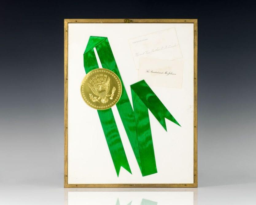 Lyndon B. Johnson Signed Photograph.