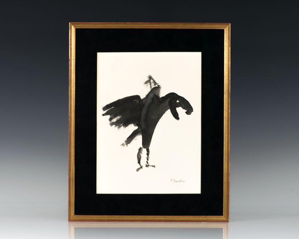 Thomas Merton Original Calligraphic Artwork.