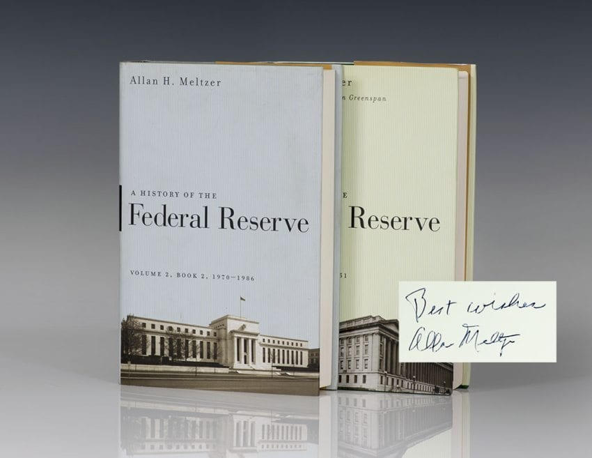 A History of the Federal Reserve, Volumes 1 & 2.