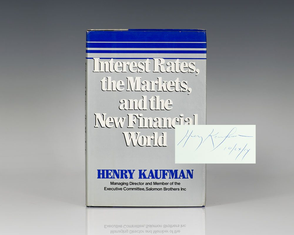 Interest Rates, the Markets, and the New Financial World.
