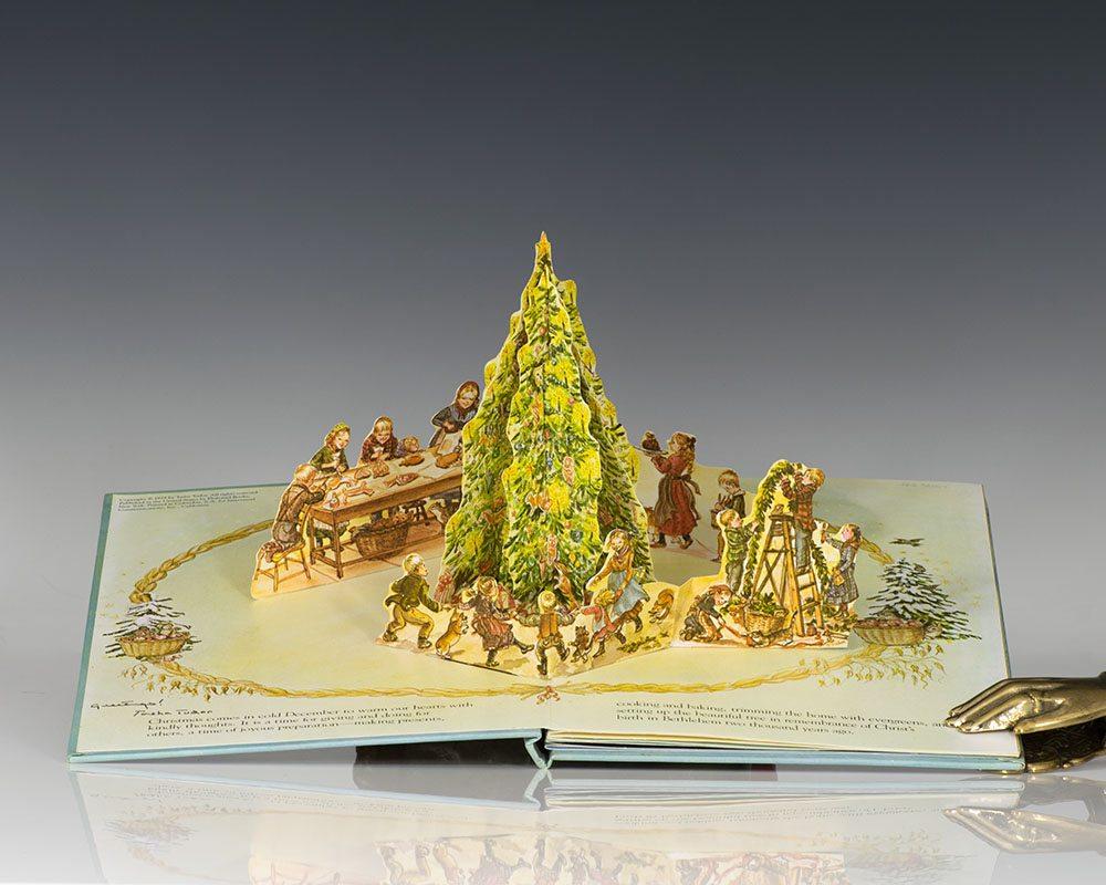 A Book Of Christmas A Three Dimensional Book.