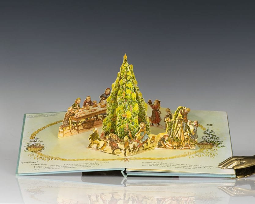 A Book Of Christmas A Three Dimensional Book.