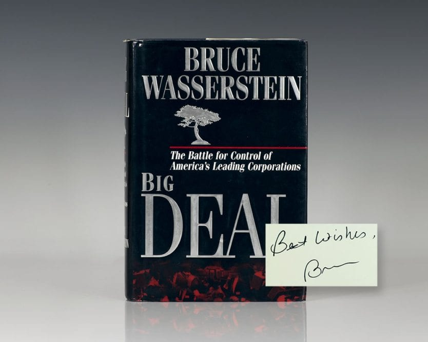 Big Deal: The Battle for Control of America's Leading Corporations.