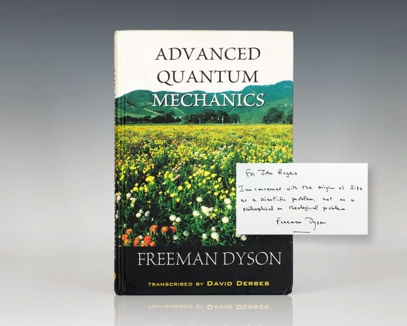 Advanced Quantum Mechanics.