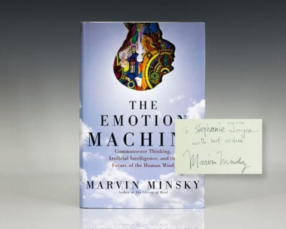 The Emotion Machine: Commonsense Thinking, Artificial Intelligence, and the Future of the Human Mind.