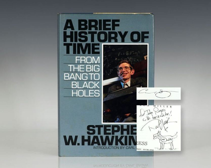 A Brief History of Time: From the Big Bang to Black Holes.