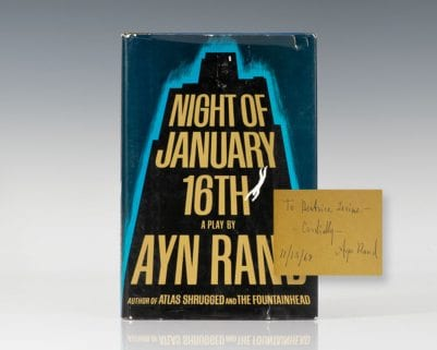 Night of January 16th.