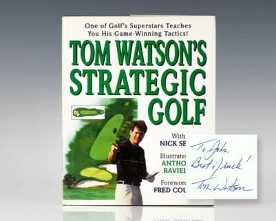 Tom Watson's Strategic Golf.