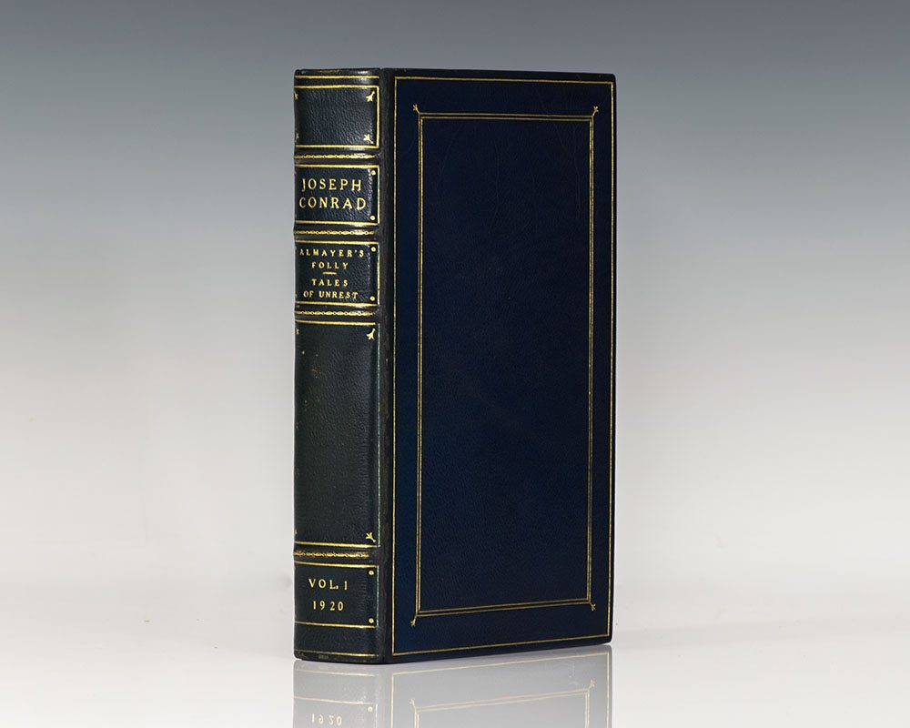 The Works of Joseph Conrad: Signed Limited Edition (Including Almayer's Folly; An Outcast of the Islands; The Nigger of the Narcissus; Heart of Darkness; Lord Jim; Nostromo; The Secret Agent; Under Western Eyes)