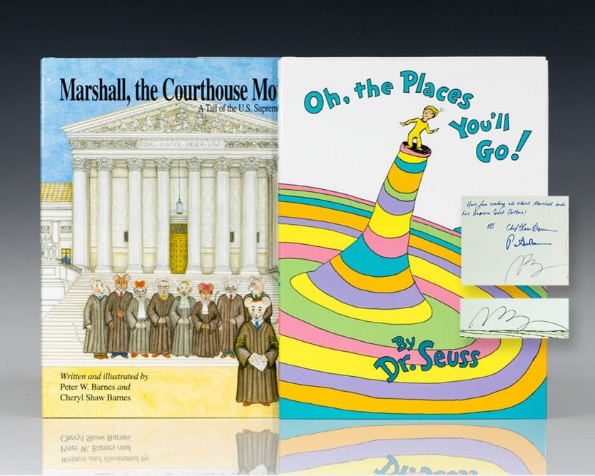 Marshall the Courthouse Mouse: A Tail of the Supreme Court and Oh. The Places You'll Go.