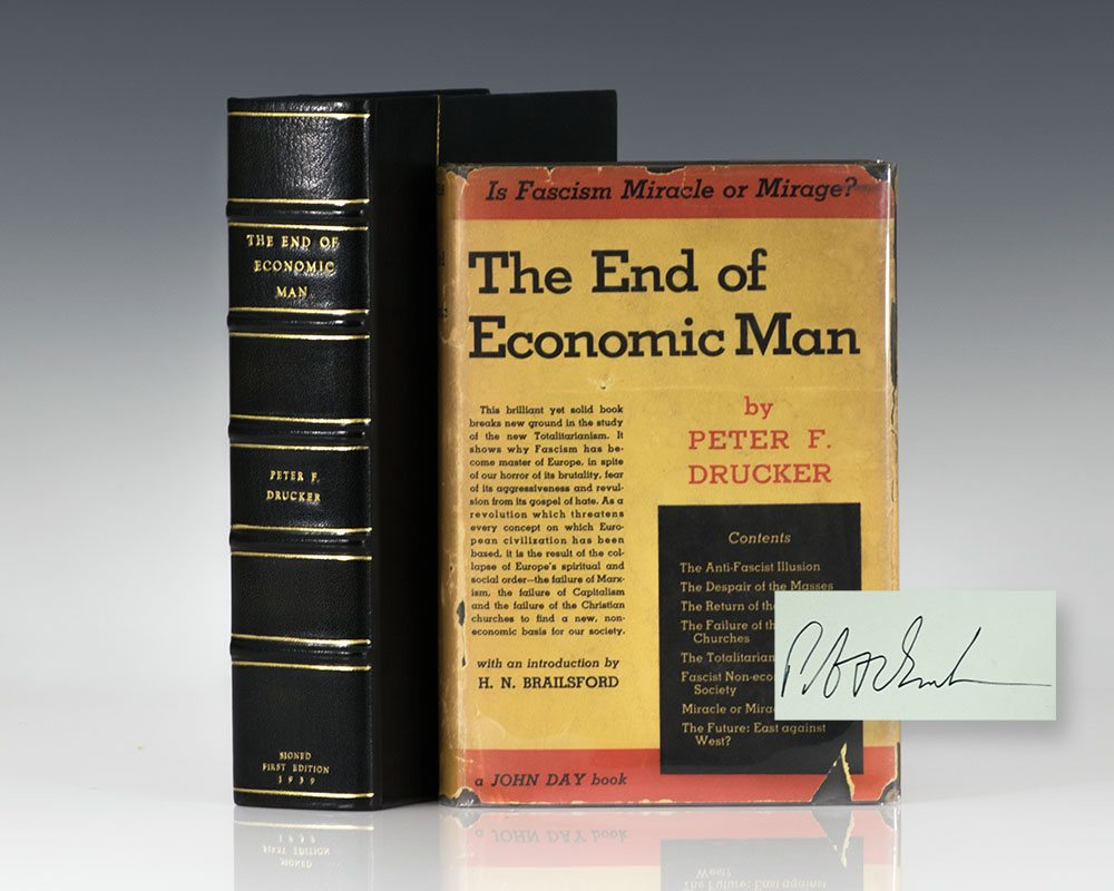 The End of Economic Man: A Study of the New Totalitarianism.