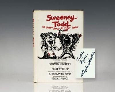 Sweeney Todd: The Demon Barber of Fleet Street.