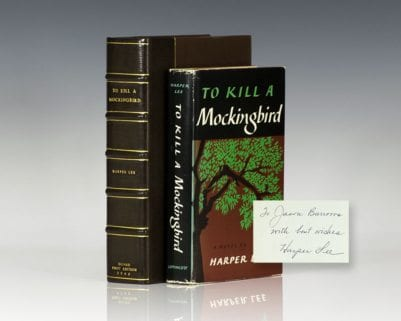 To Kill a Mockingbird.
