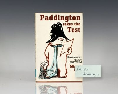 Paddington Takes The Test.