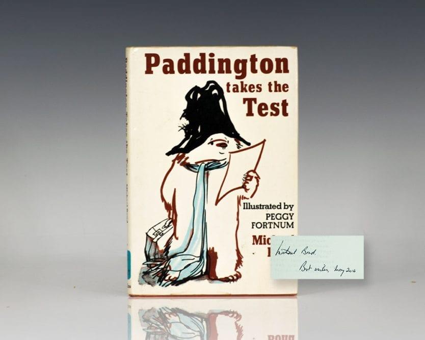 Paddington Takes The Test.