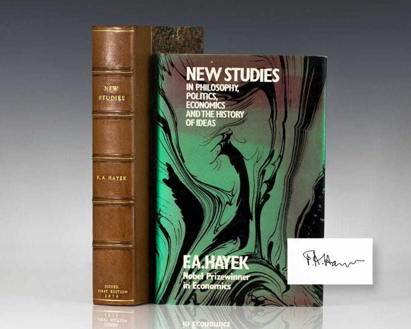 New Studies in Philosophy, Politics, Economics and the History of Ideas.