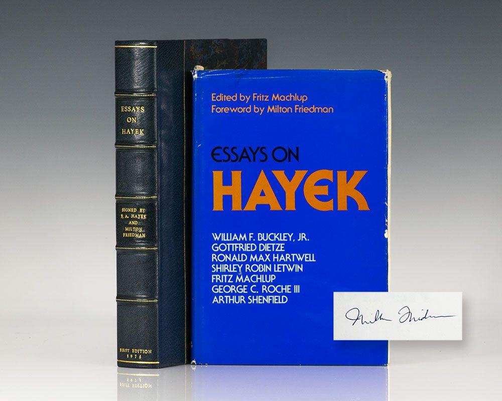 Essays on Hayek.
