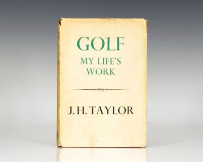 Golf: My Life's Work.