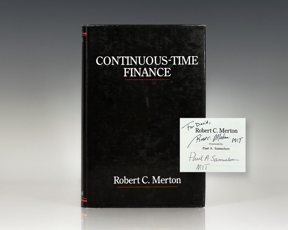 Continuous-Time Finance.
