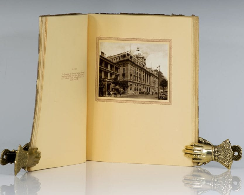 Shanghai of To-day-A Souvenir Album of Thirty-Eight Vandyke Prints of the Model Settlement.
