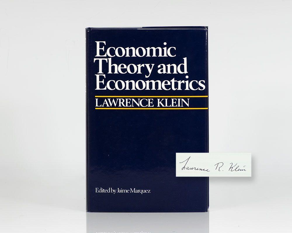 Economic Theory and Econometrics.
