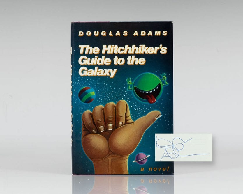 an analysis of hitchhikers guide to the galaxy by douglas adams The the hitchhiker's guide to the galaxy community the hitchhiker's guide to the galaxy is douglas adams and analysis about the hitchhiker's guide to.