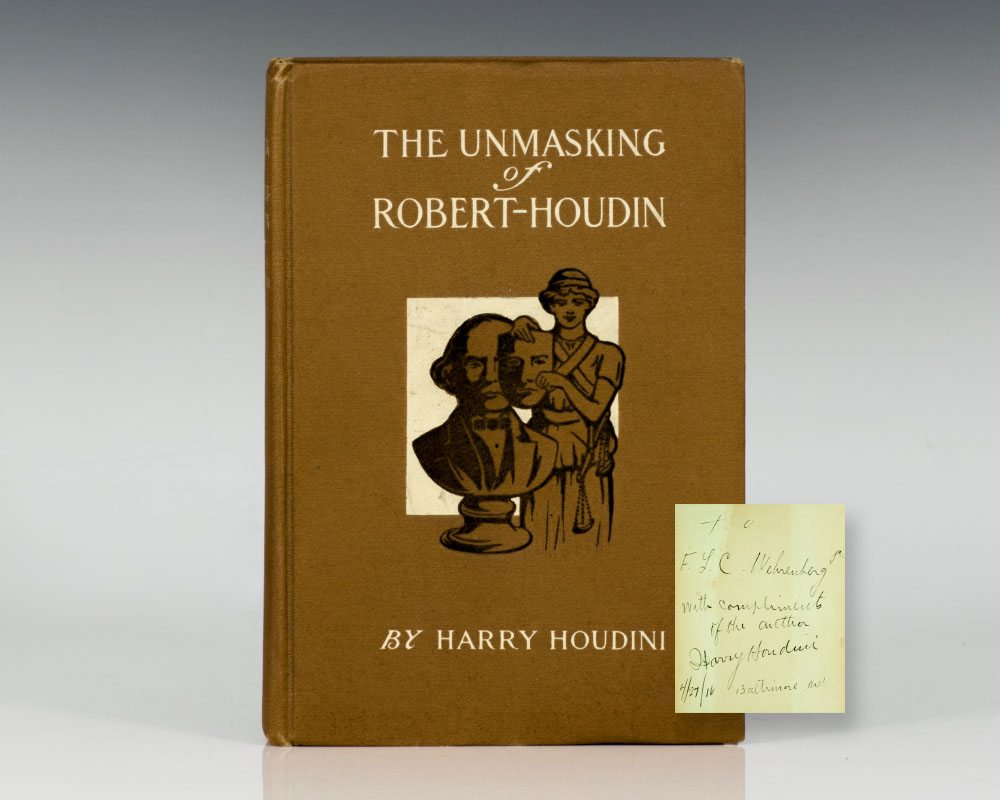 The Unmasking of Robert-Houdin.