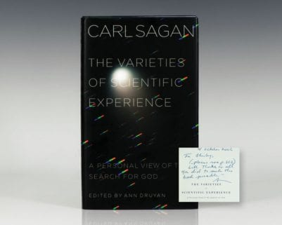 The Varieties of Scientific Experience: A Personal View of the Search For God.