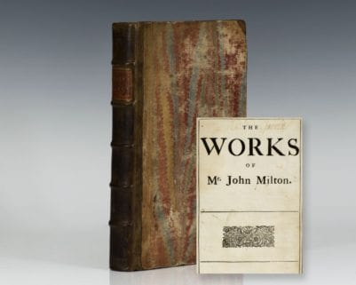 The Works of Mr. John Milton.