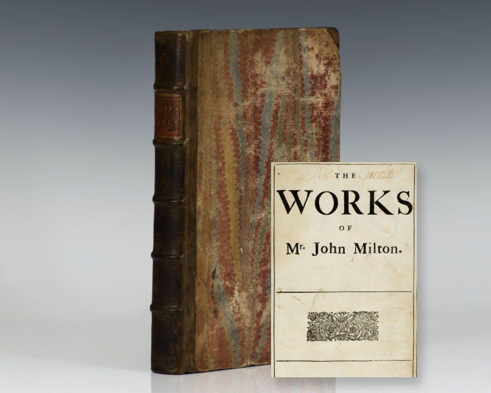 The Works of Mr. John Milton.