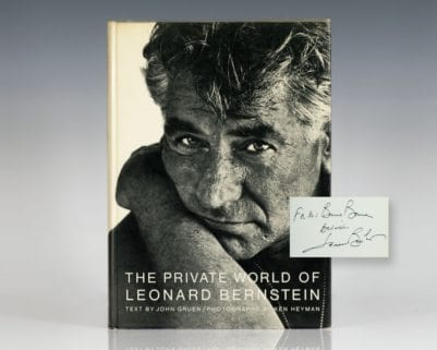 The Private World of Leonard Bernstein.