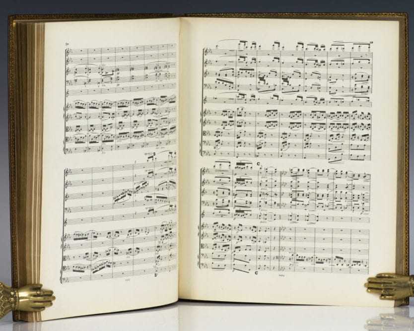 The First Four Symphonies, Opus 68, 73, 90, 98, The Orchestral Scores.