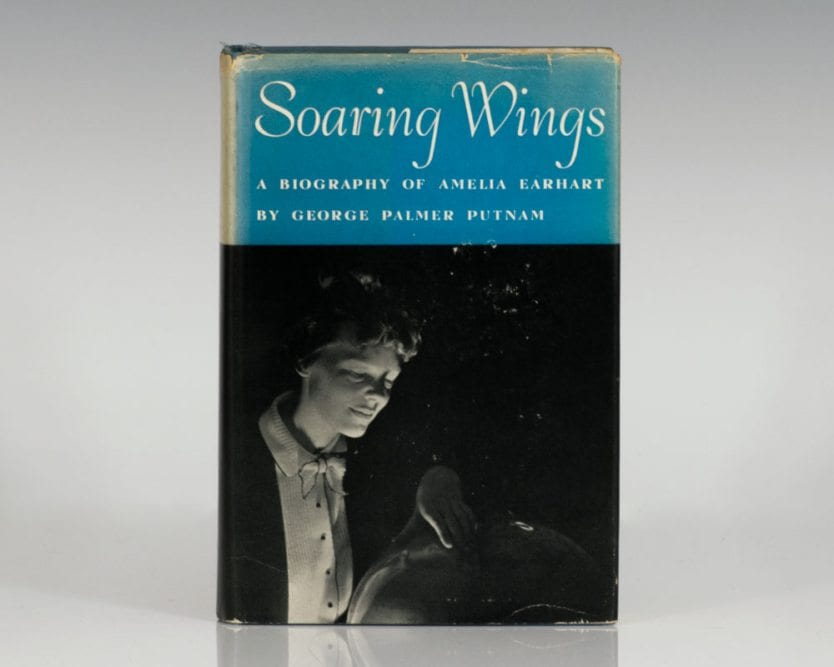 Soaring Wings: A Biography of Amelia Earhart.