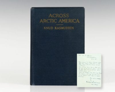Across Arctic America: Narrative of the Firth Thule Expedition.