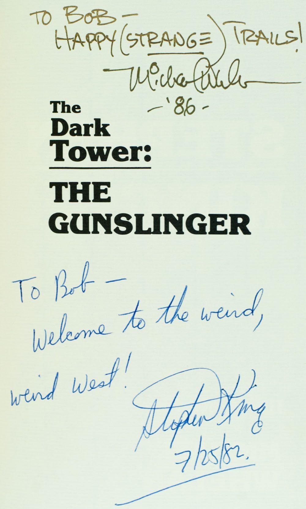 The Dark Tower: The Gunslinger.