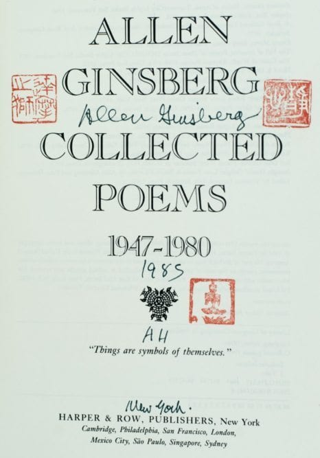 Collected Poems 1947-1980.
