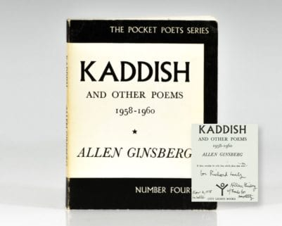 Kaddish and Other Poems: 1958-1960.