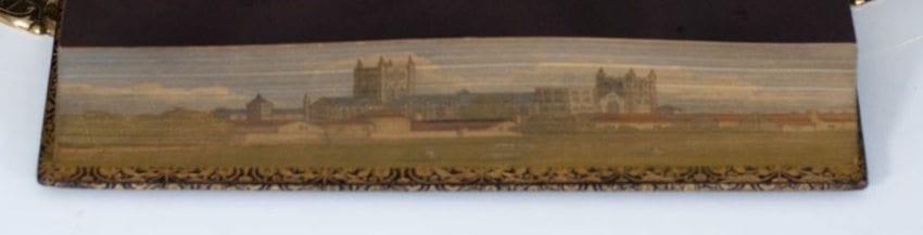 The Book of Psalms: With a Fore-Edge Painting of The Canterbury Cathedral.