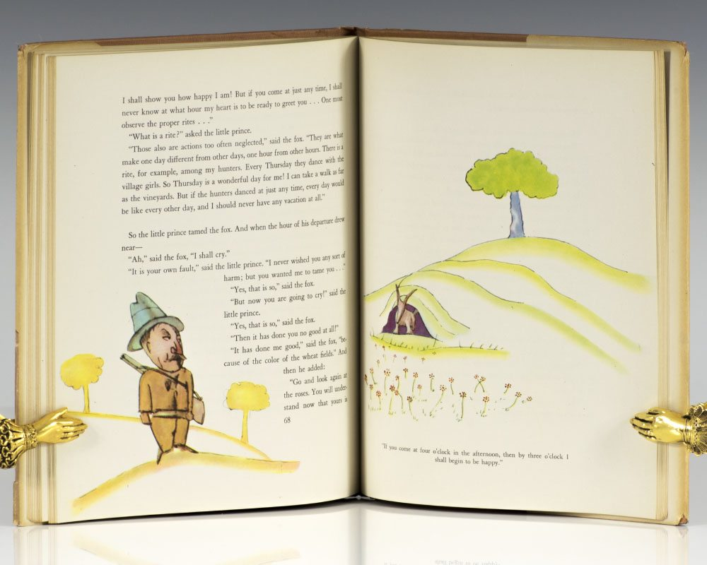 a book analysis of the little prince by antoine de saint exupry The little prince by harper lee setting, character descriptions and analysis  the narrator is really the author, antoine de saint-exupéry.
