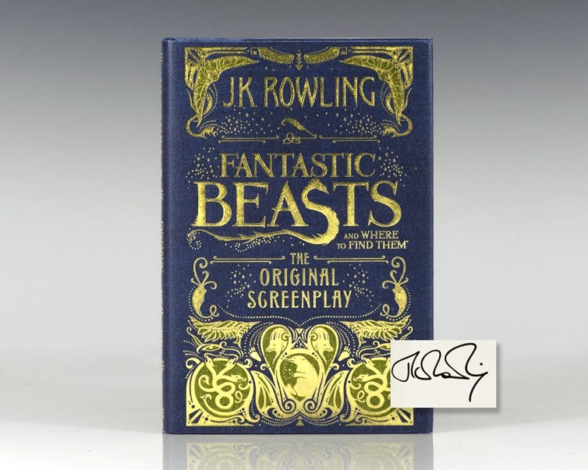 Fantastic Beasts and Where To Find Them: The Original Screenplay.