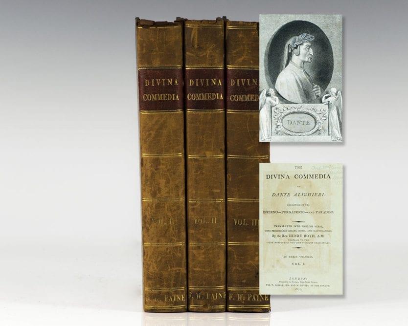 The Divina Commedia of Dante Alighieri: Consisting of the Inferno, Purgatorio and Paradiso (The Divine Comedy).