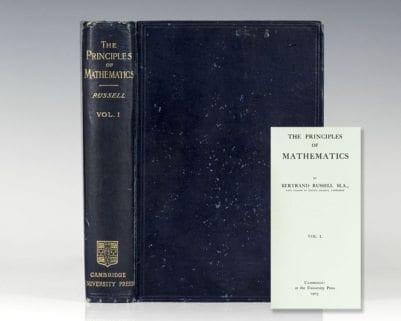 The Principles of Mathematics. Volume 1.