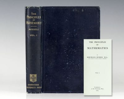 The Principles of Mathematics. Volume 1.