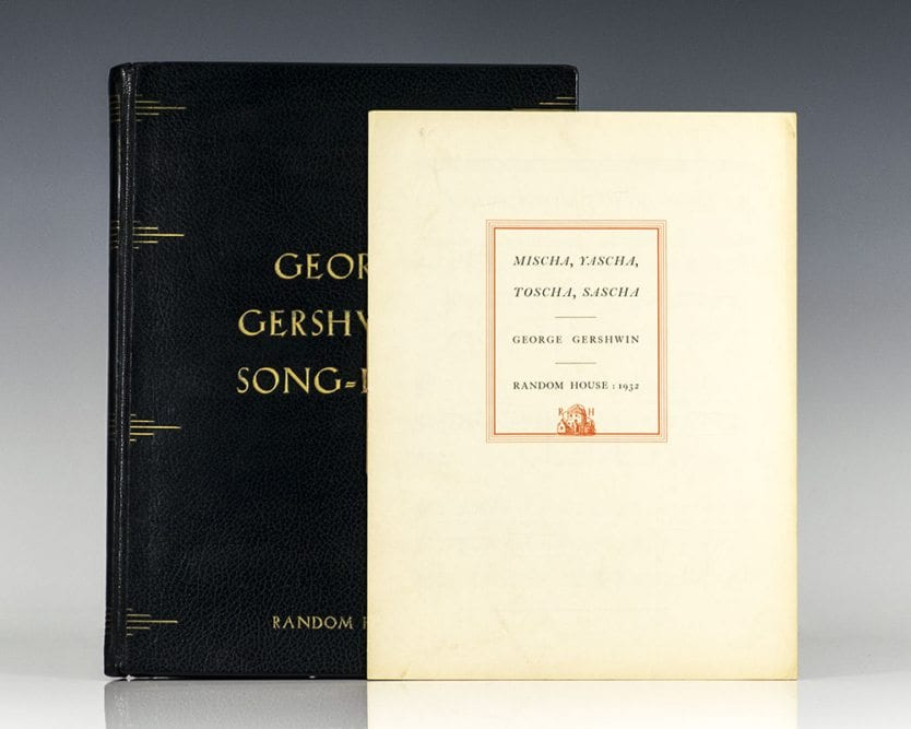 George Gershwin's Song-Book.
