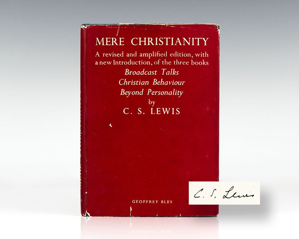 mere christianity by c s lewis Reddit gives you the best of the internet in one place get a constantly updating feed of breaking news, fun stories, pics, memes, and videos just for you passionate about something niche.